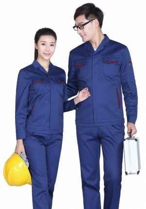 员工穿着工作服时的规定